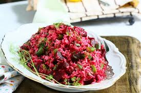 Beet & Rice Salad