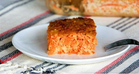Carrot, Sweet Potato, Apple Kugel